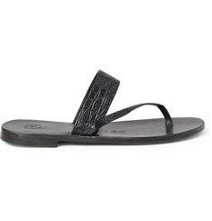 Alvaro Alligator Sandals