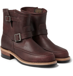 Jean Shop Chippewa Buckled Leather Boots