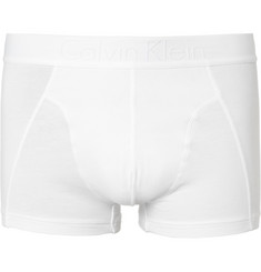 Calvin Klein Underwear Stretch-Cotton Trunks