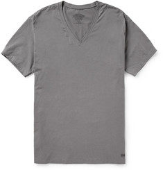 Calvin Klein Underwear Cotton-Blend Jersey V-Neck T-Shirt