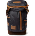 Master-Piece - Potential Leather and Suede-Trimmed Nylon Backpack