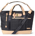 Master-Piece Surpass Leather-Trimmed Nylon Tote Bag