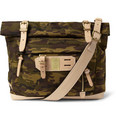 Master-Piece - Surpass Leather-Trimmed Camouflage Nylon Tote Bag
