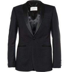 Sandro Slim-Fit Wool Tuxedo Jacket