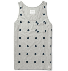 Saturdays Surf NYC Printed Cotton-Jersey Vest