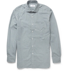 Alfred Dunhill Check Cotton Shirt