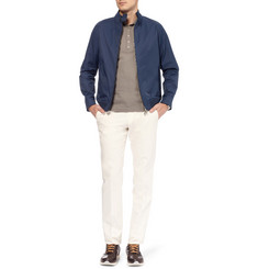 Alfred Dunhill Morris Cotton-Blend Bomber Jacket