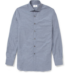 Alfred Dunhill Slim-Fit Lightweight Cotton Shirt