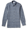 Dunhill - Billy Checked Linen Shirt