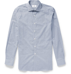 Alfred Dunhill Slim-Fit Check Cotton Shirt