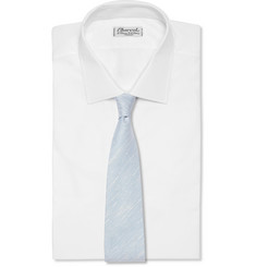 Emma Willis Slub Linen and Silk-Blend Tie