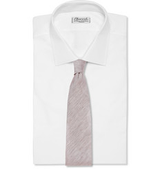 Emma Willis Woven Cotton and Silk-Blend Tie