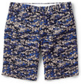 Gant Rugger - Slim-Fit Wave-Print Cotton Shorts