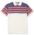 Gant Rugger - Striped Cotton-Jersey Polo Shirt
