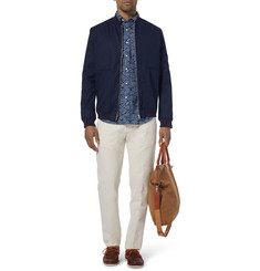 Gant Rugger Printed Button-Down Collar Cotton Shirt