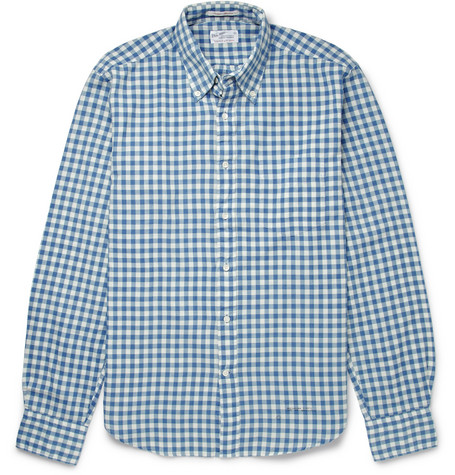 Gant Rugger Gingham Button-Down Collar Cotton Shirt