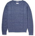 Gant Rugger - Cable-Knit Mélange Cotton Sweater