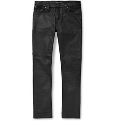 Nudie Jeans Tube Tom Skinny-Fit Coated Organic-Denim Jeans