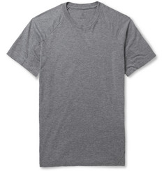Aether Pieced Zip-Pocket Jersey T-Shirt