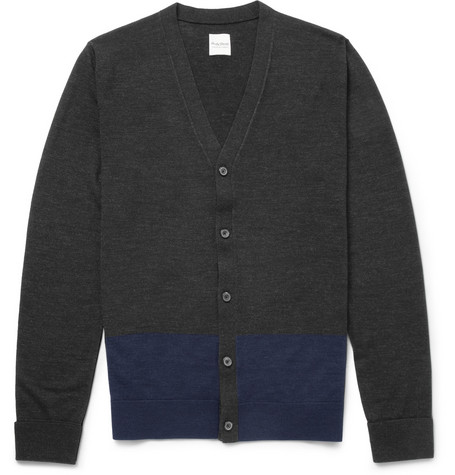 Hardy Amies Merino Wool Cardigan