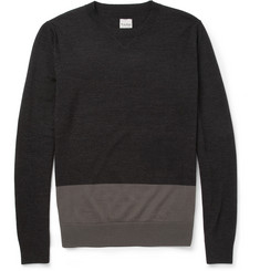 Hardy Amies Merino Wool Crew Neck Sweater