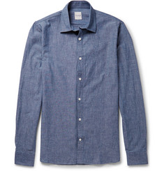 Hardy Amies Cotton-Chambray Shirt