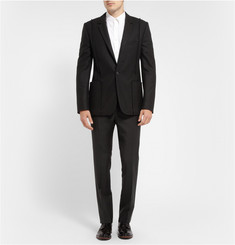 Maison Martin Margiela Exposed-Seam Wool-Blend Blazer
