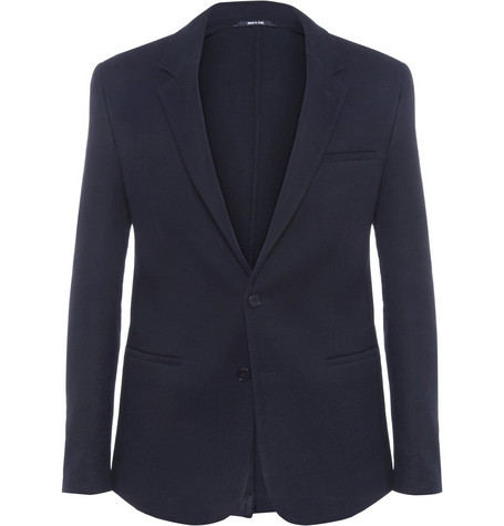 Maison Martin Margiela Double-Faced Knitted-Cotton Blazer