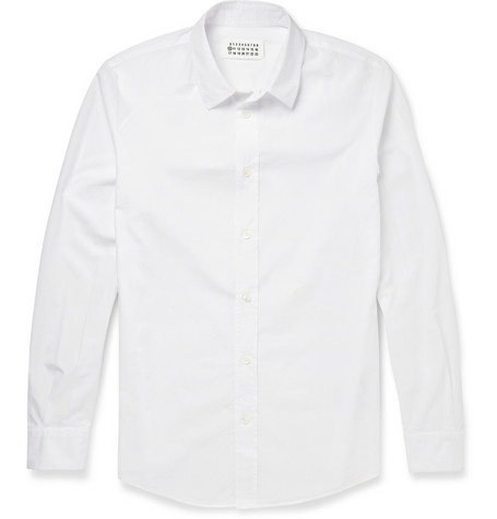 Maison Martin Margiela Cotton-Poplin Shirt