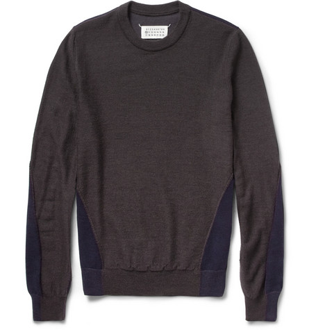 Maison Martin Margiela Wool and Cotton-Blend Sweater