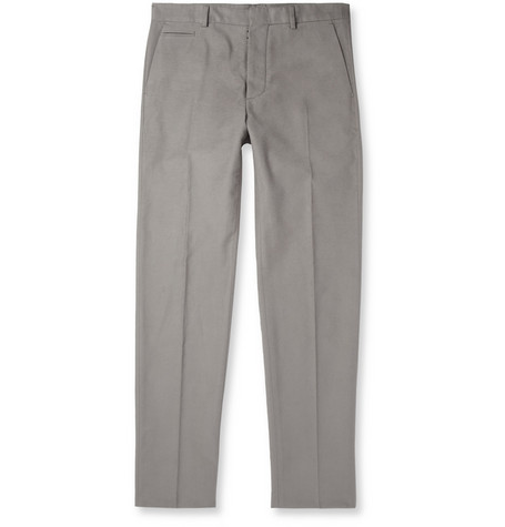 Maison Martin Margiela Slim-Fit Moleskin Trousers