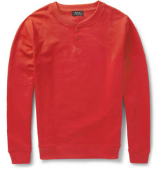 A.P.C. Loopback Cotton-Jersey Sweatshirt