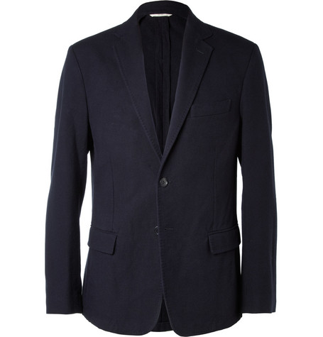 Billy Reid Lexington Unstructured Cotton Blazer