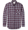 Billy Reid Walland Plaid Cotton Shirt