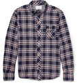 Billy Reid - Tanner Plaid Cotton Shirt