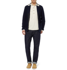 Billy Reid Franklin Popover Cotton-Jersey Shirt
