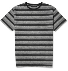 Marc by Marc Jacobs Mélange Striped Cotton-Jersey T-Shirt