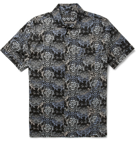 Marc by Marc Jacobs Printed Cotton-Poplin Shirt