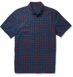 Marc by Marc Jacobs Printed Cotton-Chambray Shirt