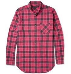 Marc by Marc Jacobs Checked Cotton-Blend Shirt