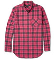 Marc by Marc Jacobs - Checked Cotton-Blend Shirt