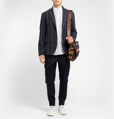 Marc by Marc Jacobs Plaid Cotton Blazer