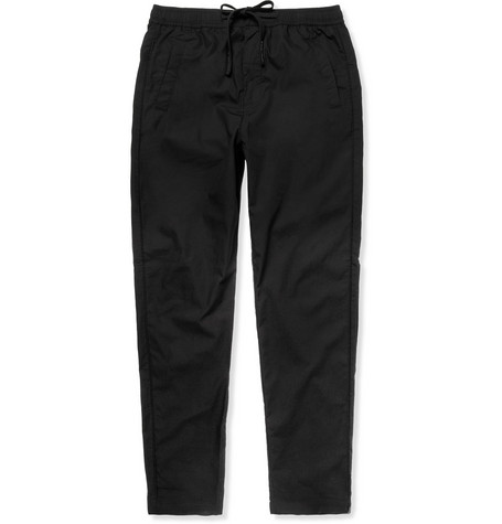 Folk Slim-Fit Lightweight Cotton Trousers