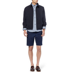 Folk Regular-Fit Washed-Denim Shorts
