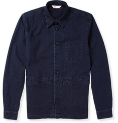 Folk Washed-Denim Lightweight Jacket