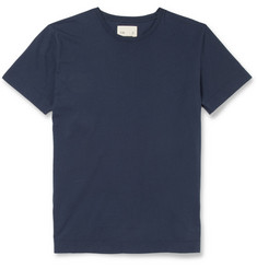 Folk Contrast-Gusset Cotton-Jersey T-Shirt