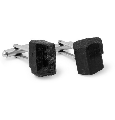 Maison Martin Margiela Stone and Metal Cufflinks