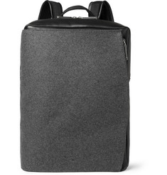 Maison Martin Margiela Leather and Felt Backpack