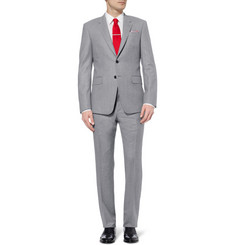 Paul Smith London Grey Byard Brushed-Wool Suit