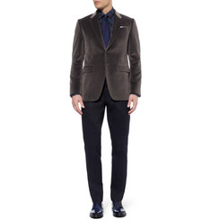 Paul Smith London Byard Velvet Blazer